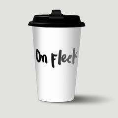 On Fleek - Free Form Lettering