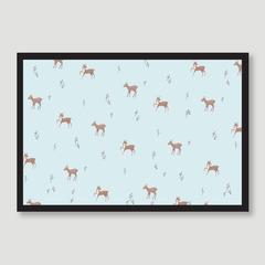 Deer Berry Pattern