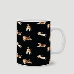 Happy Beagle (Black Ver.)