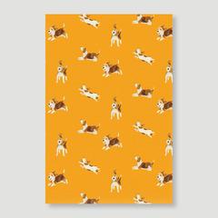 Happy Beagle (Orange Ver.)
