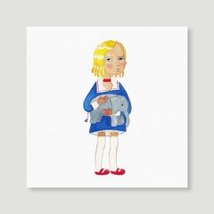 Canvas Art (Square) 20x20 cm