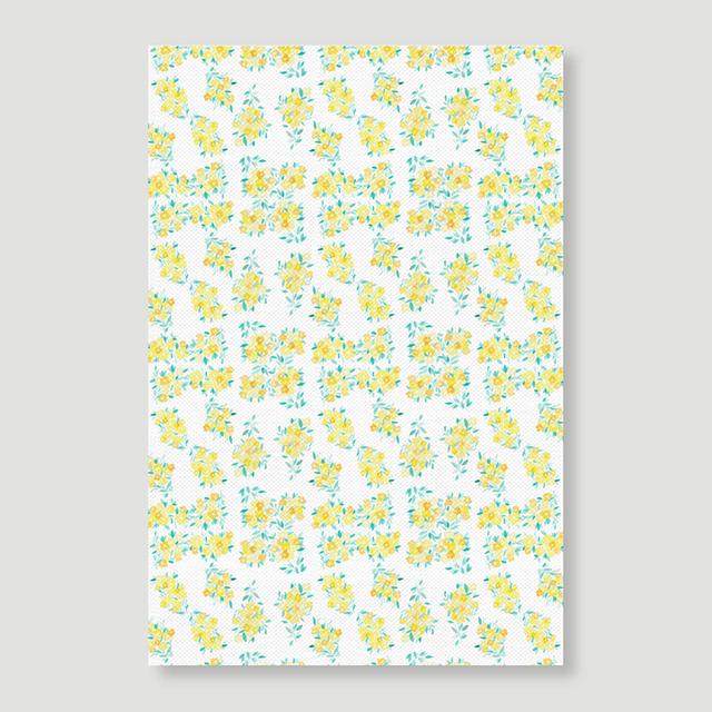 Shabby Flower Yellow