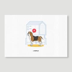 Dog x Architecture