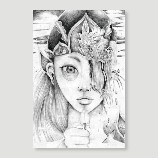 Canvas Art (Portrait) 20x30 cm