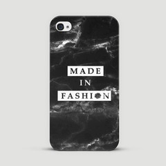Made in Fashion x Happy Holidays - Black Marbles