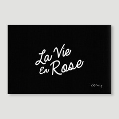 La Vie En Rose - Black